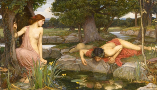 Eco e Narciso, 1903 John W. Waterhouse