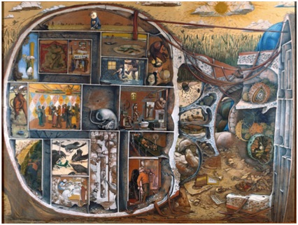 William Kurelek – Il labirinto