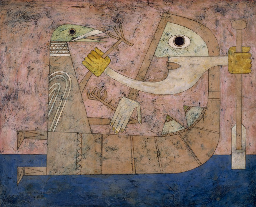 Victor Brauner, Consciousness of Shock, 1951