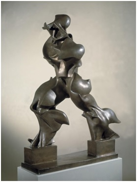 Umberto Boccioni, Unique Forms of Continuity in Space 1913, cast 1972