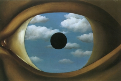 Magritte, falso specchio